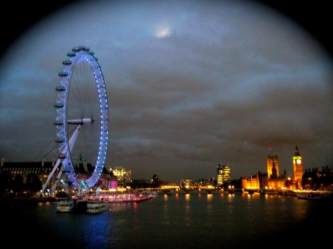 London Evening Landscape