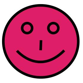 magenta smiley